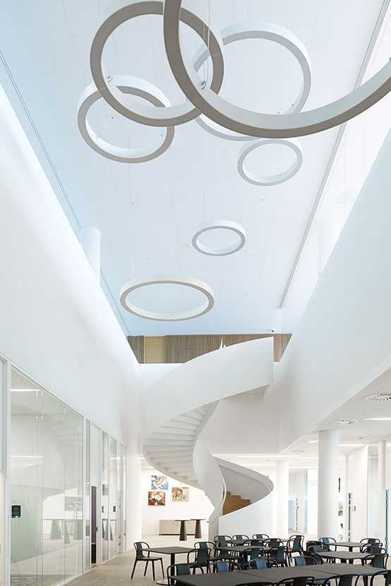 Staircase at Financial Institute in Denmark