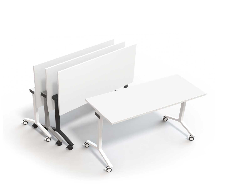 - Alku - Folding Table With Castors Martela