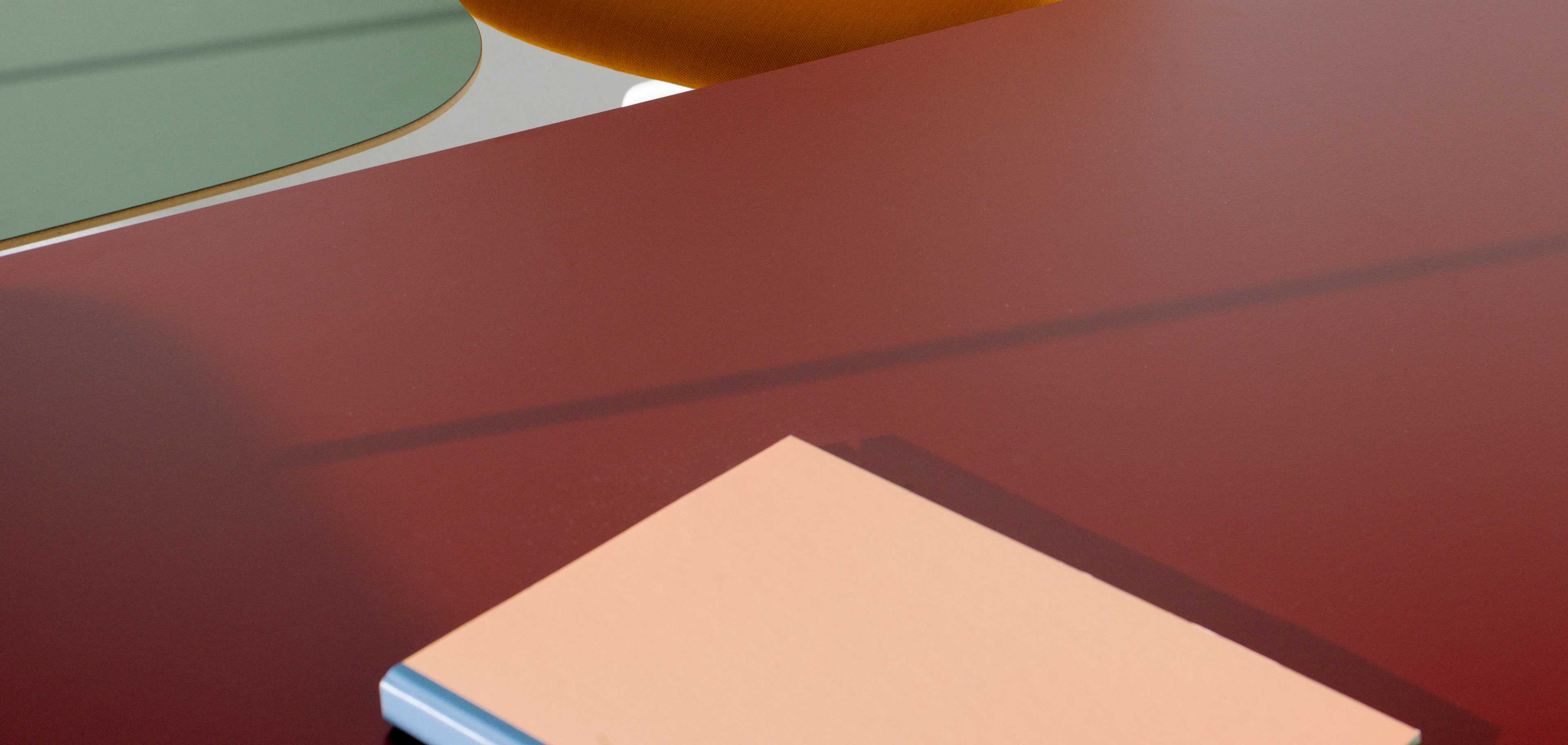 Colourful surfaces