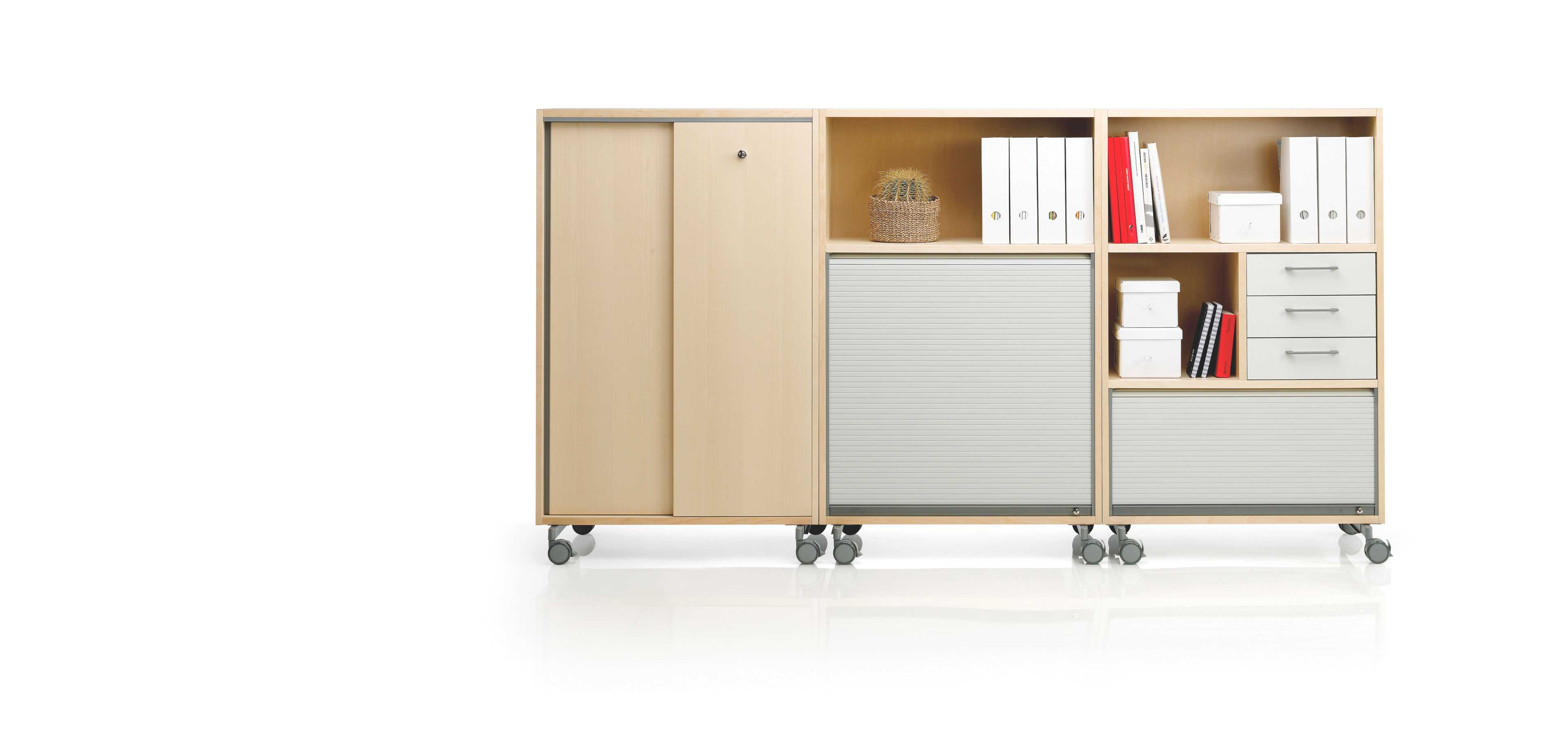 Combo cabinet by Martela