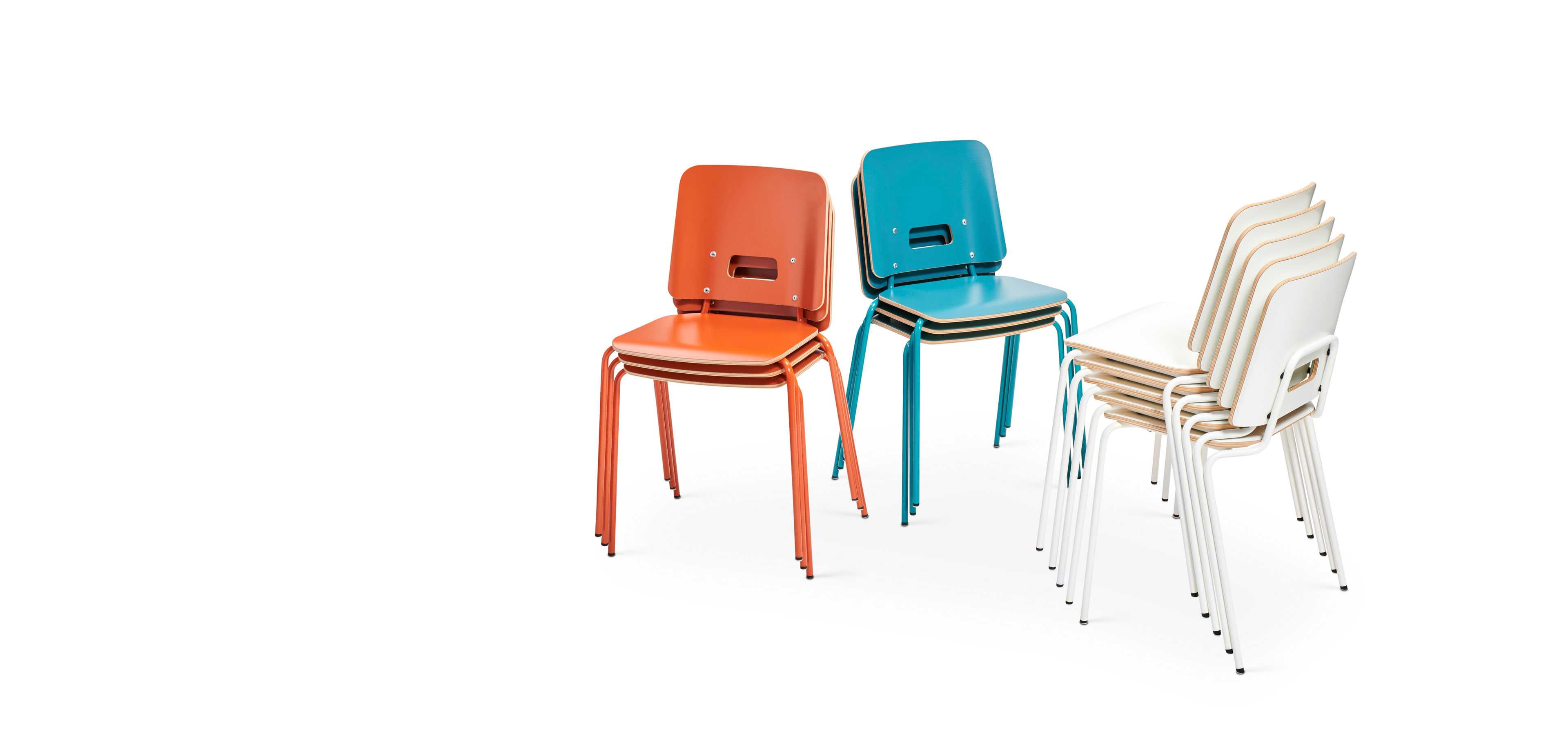 Grip NxT chairs by Martela