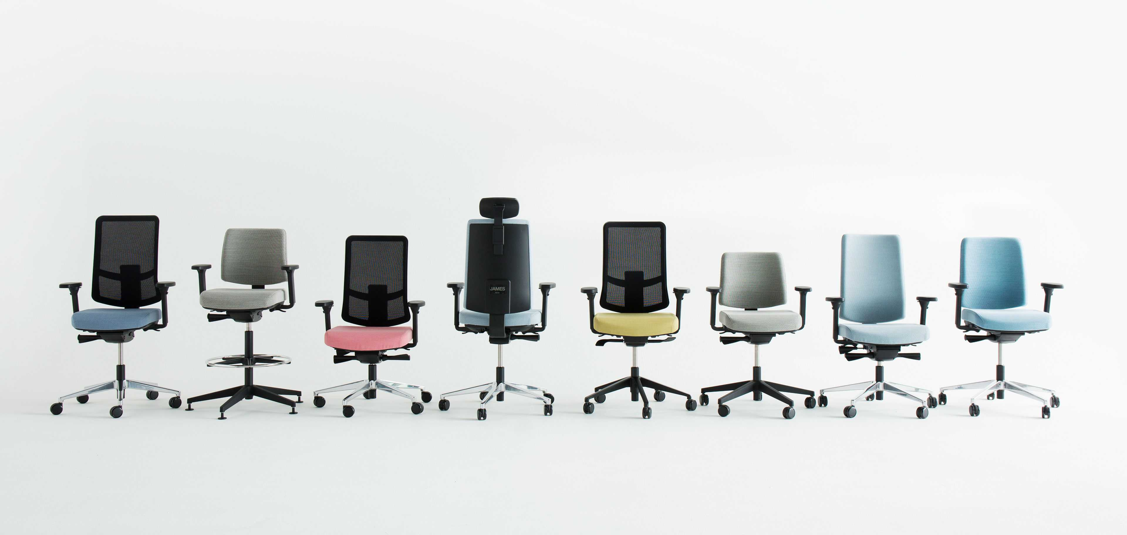 James taskchairs by Martela