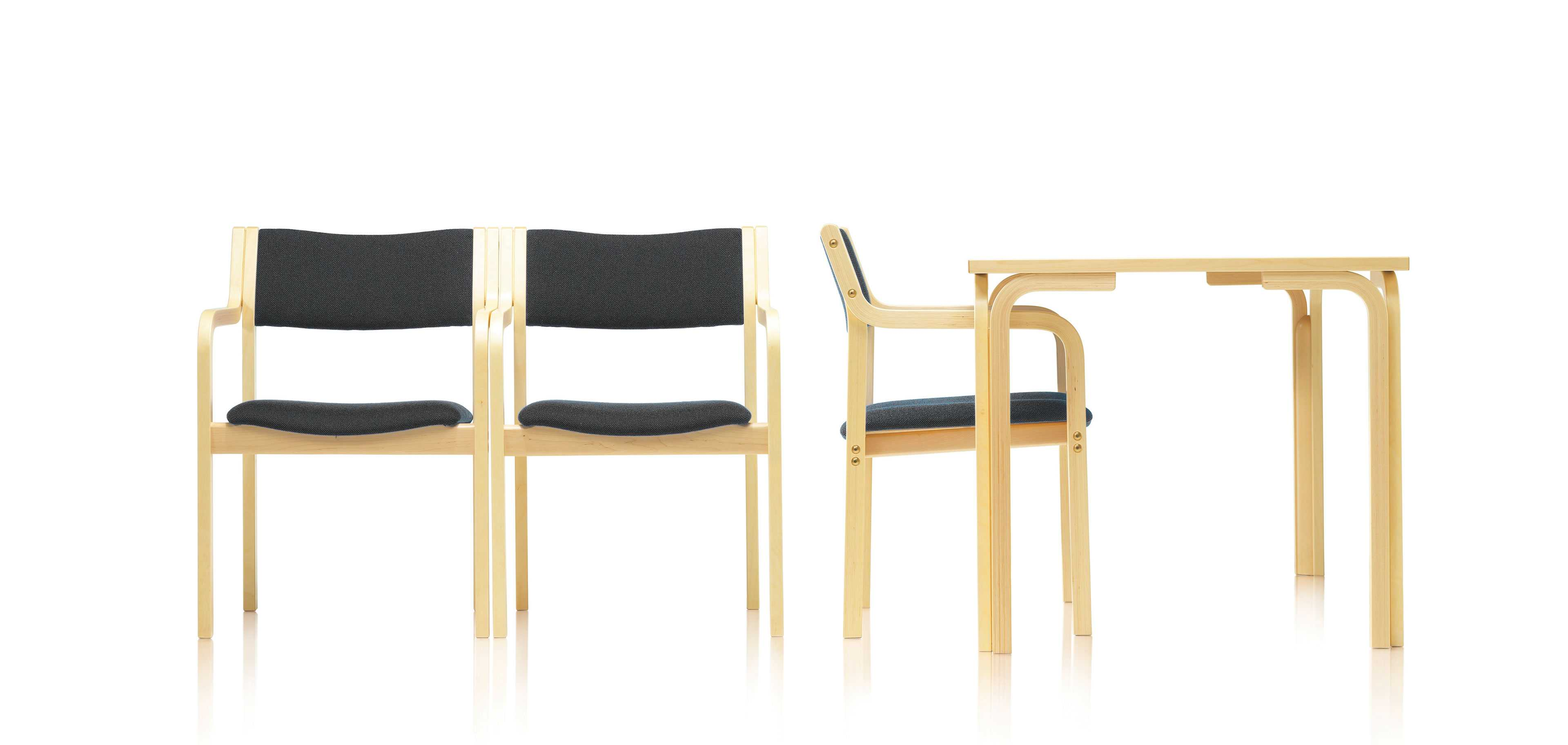 Kari chairs and a table by Martela