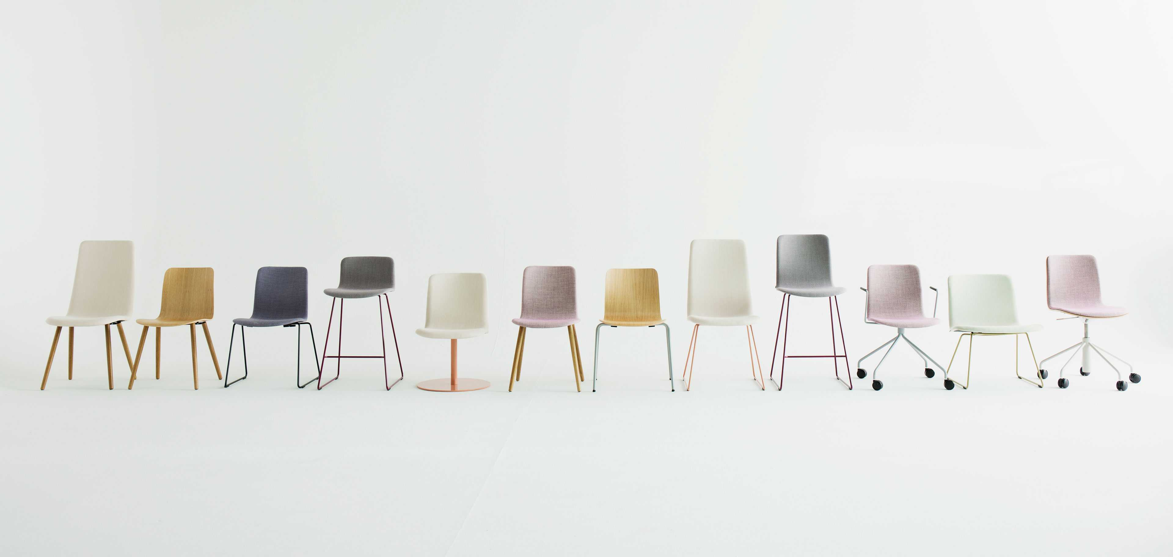 Sola chairs by Martela