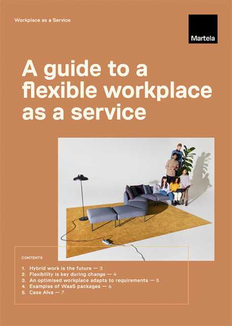 A guide to a flexible workplaces as a service